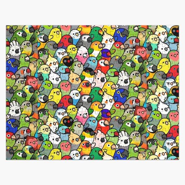 Everybirdy Pattern Jigsaw Puzzle