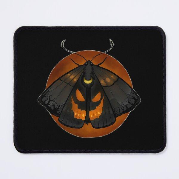 Harvest Moon Jack-o-Lantern Moth Mouse Pad