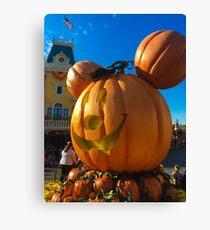 Time for pumpkins!  Canvas Print