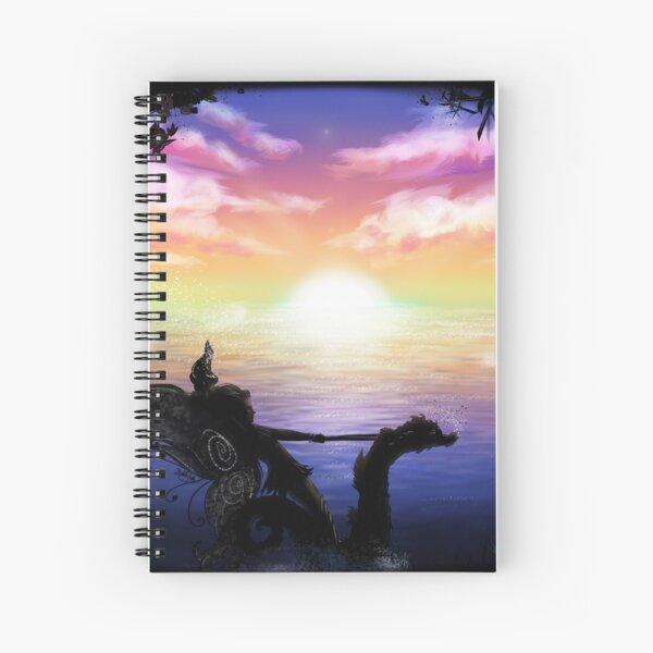 Fairy Hippo Spiral Notebook