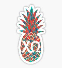 XO Fresh Pineapple in Peachy Sticker