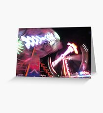 Carnival ride 2 Greeting Card