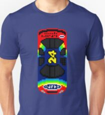 Racing Pixel Art: Jeff Gordon 1998 Unisex T-Shirt