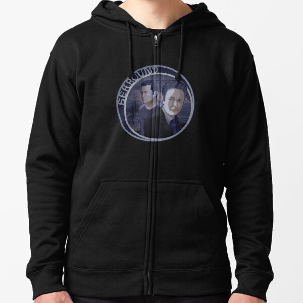 Seabound - Portrait Zipped Hoodie