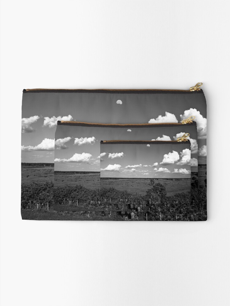 Alternate view of Moon Over Venice Zipper Pouch