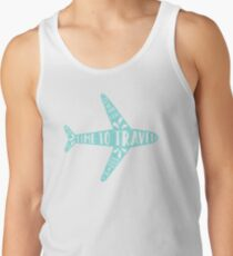 Time to travel Tank Top