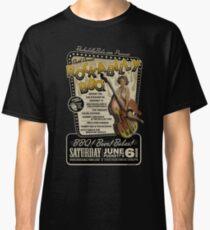 Rockabilly BBQ Poster Classic T-Shirt