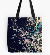 Nature Pattern # 4 - Birch (Blue) Tote Bag