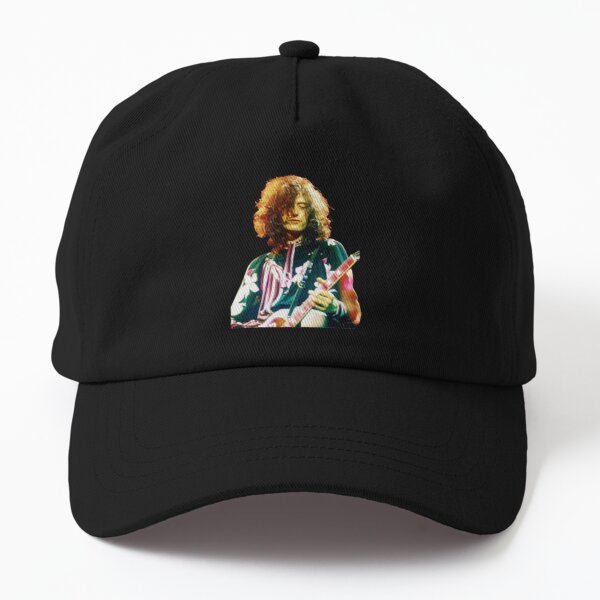 PAGE ´75 WEARING A FLORAL OUTFIT PLAYING GIBSON LES PAUL Dad Hat