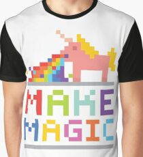 Make magic / Unicorn power Graphic T-Shirt