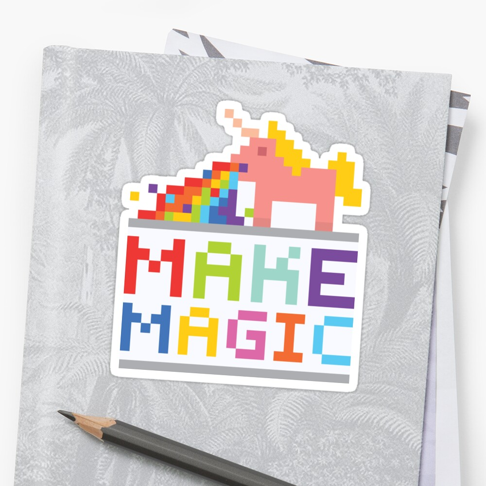 Make magic / Unicorn power by dmitriylo
