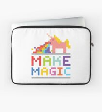 Make magic / Unicorn power Laptop Sleeve
