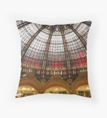 Galeries Lafayette  Throw Pillow
