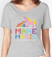 Make magic / Unicorn power Women's Relaxed Fit T-Shirt