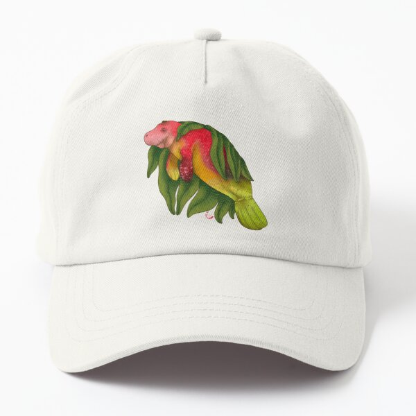 Mango Manatee Dad Hat