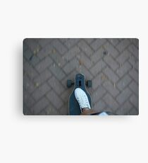 Longboarder Canvas Print