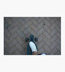 Longboarder Photographic Print