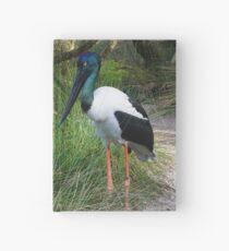 Black-necked Stork Hardcover Journal