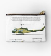 Bell Huey Helicopter (UH-1H transport) Australian Army Studio Pouch