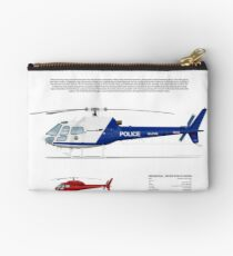 Eurocopter AS.350 Squirrel Helicopter (A-Star, Ecureuil) Studio Pouch
