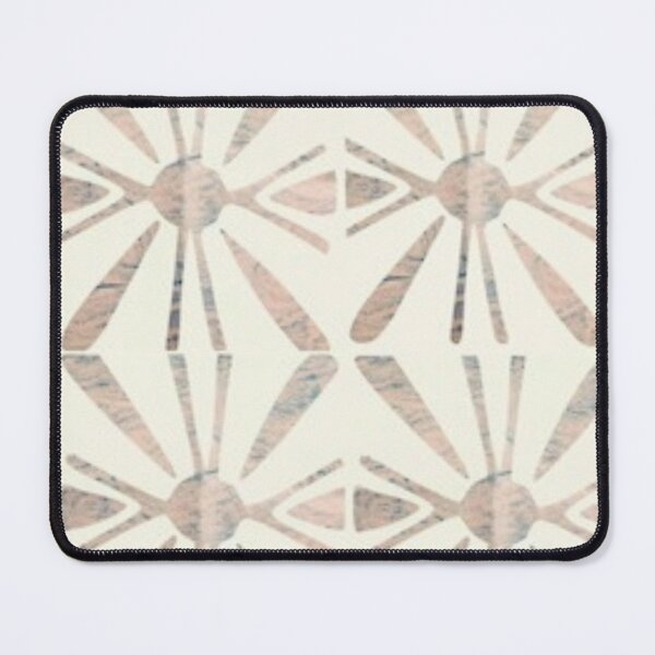 Abstract Shapes Autumn Prints Fall Colors Patterns  Mouse Pad