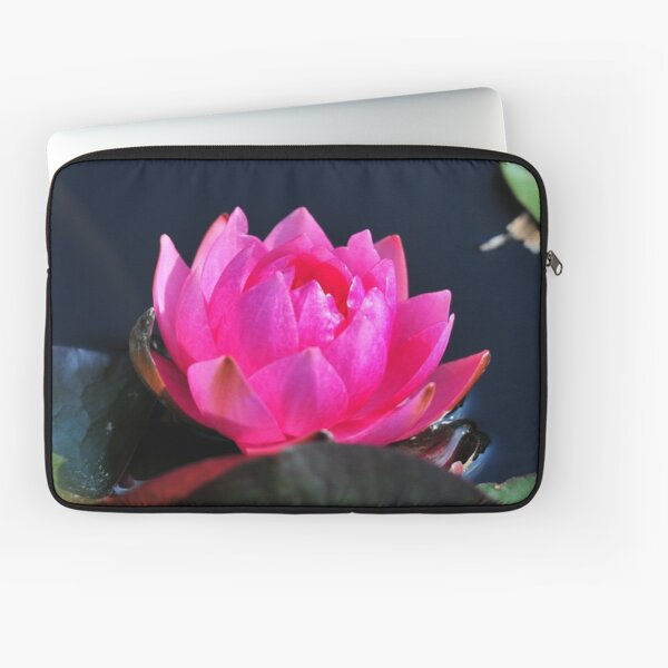 A Flower with Open Heart Laptop Sleeve