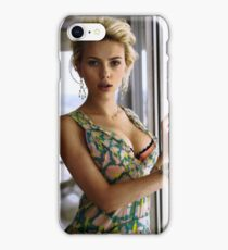 Scarlett Johansson, ultimate perfection iPhone Case/Skin