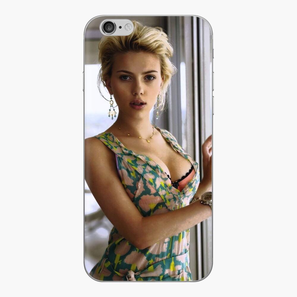 Scarlett Johansson, ultimative Perfektion iPhone Klebefolie