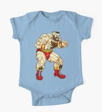 Zangief - russian fighter Kids Clothes