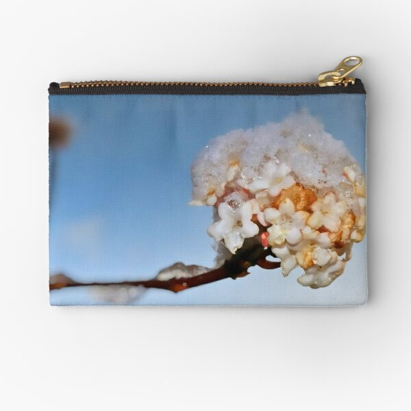 Then came the snow Zipper Pouch