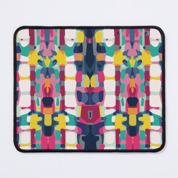 Aztec Abstract Pattern  Mouse Pad