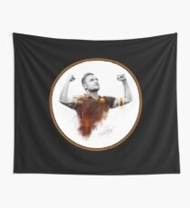 Francesco Totti - King of Rome Wall Tapestry