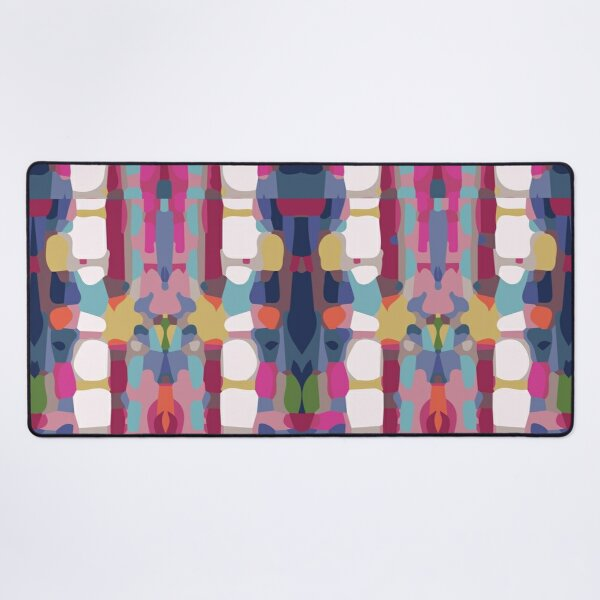 Aztec Abstract Pattern - Colourful Desk Mat