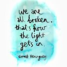 We Are All Broken - On Transparent by DanielleQ