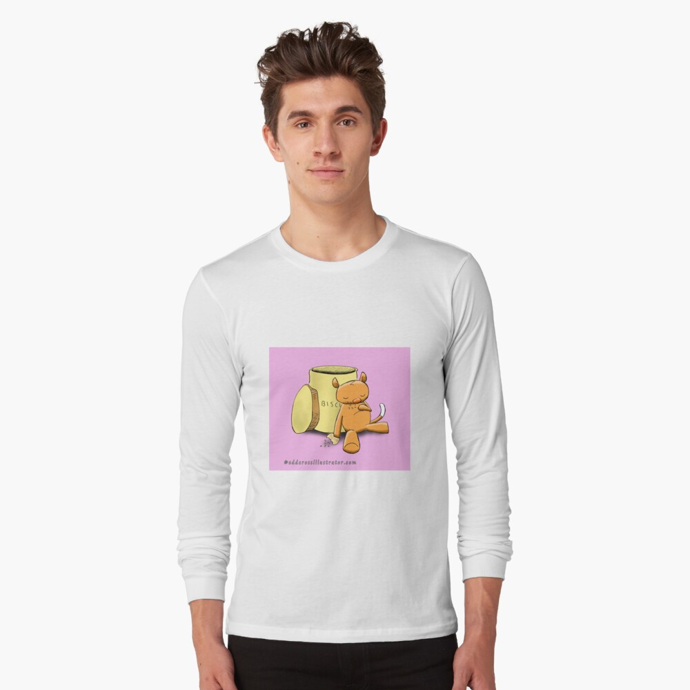 Ringo the Ringtail Possum & Biscuits Long Sleeve T-Shirt