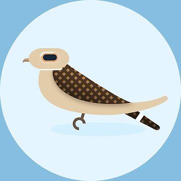 Common Nighthawk by mpriorpfeifer