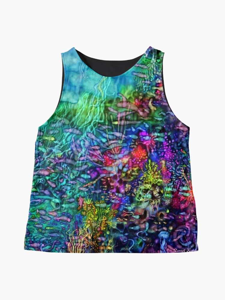 Alternate view of Qualia's Reef Right Sleeveless Top