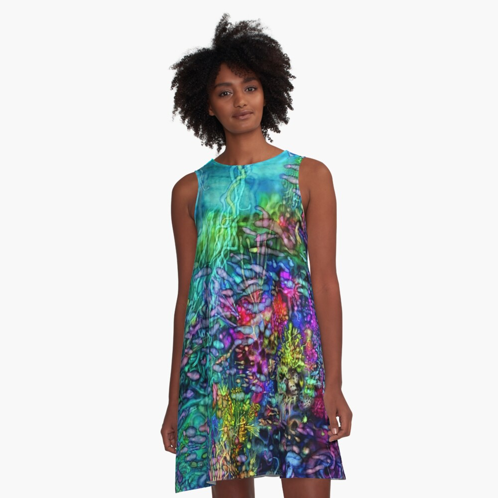Qualia's Reef Right A-Line Dress
