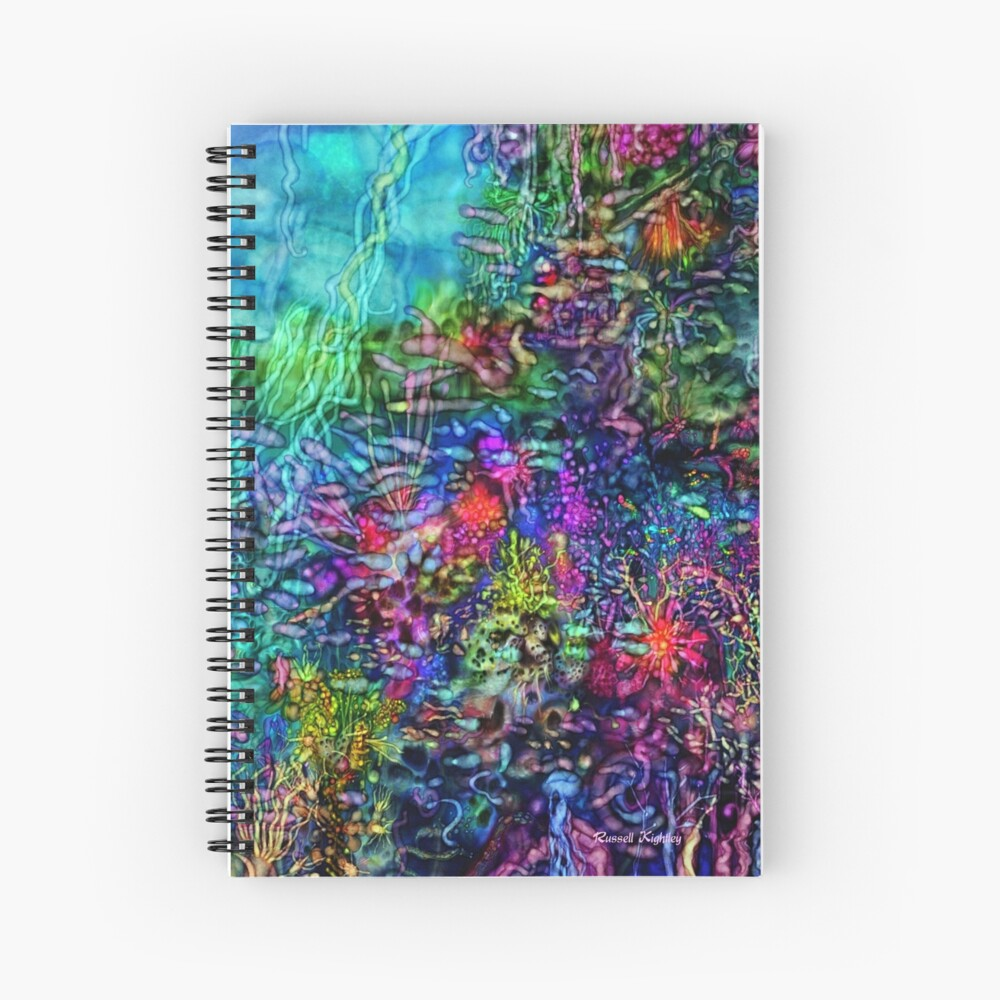 Qualia's Reef Right Spiral Notebook