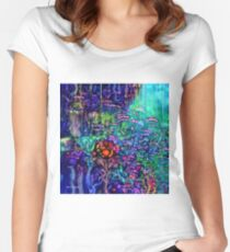 Qualia's Reef Women's Fitted Scoop T-Shirt