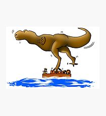 Dinosaur on the Ark Photographic Print