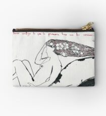 I want to do with you what spring does with the cherry trees Studio Pouch