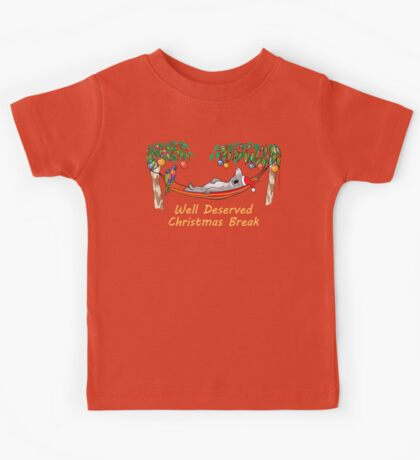 Koala Relaxing on its Hammock on a Well Deserved Christmas Break Kids Clothes
