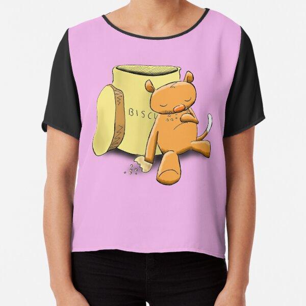 Ringo the Ringtail Possum & Biscuits Chiffon Top