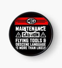 Mg Maintenance Caution Clock