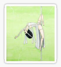 Poletober 17 - Bride Of Frankenstein Sticker