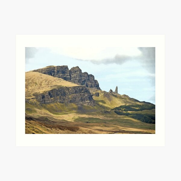 The Sanctuary of Skye Art Print