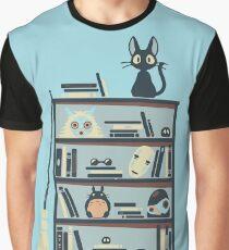 Ghibli shelf Graphic T-Shirt