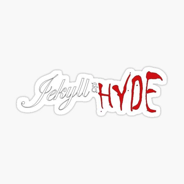 Jekyll & Hyde musical logo Sticker