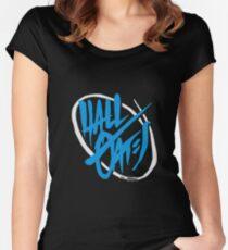 Hall & Oates  Women's Fitted Scoop T-Shirt